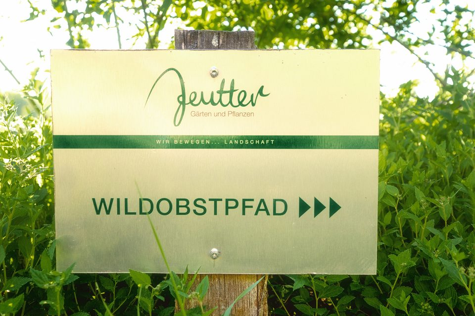 Wildobstpfad Gärtnerei Jeutter, Göppingen Farndau,